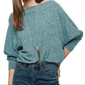 Free People Valencia Off the Shoulder Boxy Top